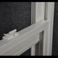 DOUBLE HUNG WINDOW OPENING LATCH